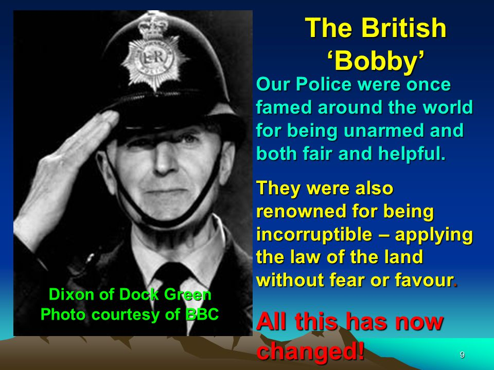 Dixon of Dock Green Photo courtesy of BBC