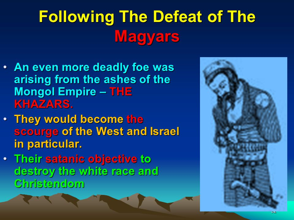 Following The Defeat of The Magyars