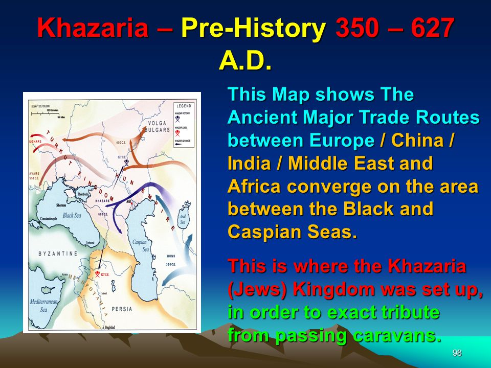 Khazaria – Pre-History 350 – 627 A.D.