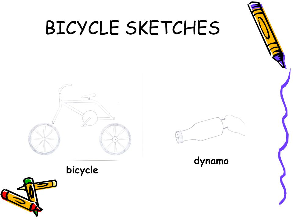 BICYCLE SKETCHES dynamo bicycle