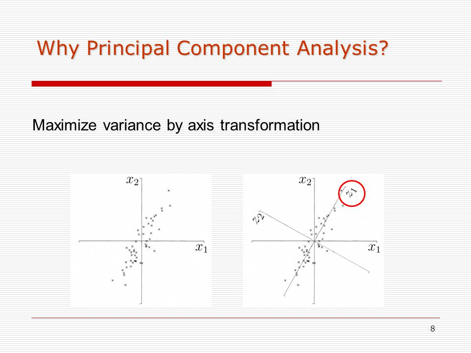 Why Principal Component Analysis