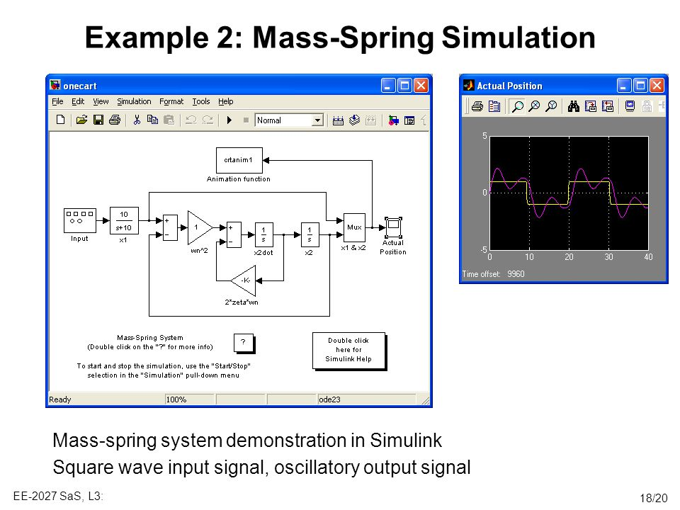 Example 2: Mass-Spring Simulation