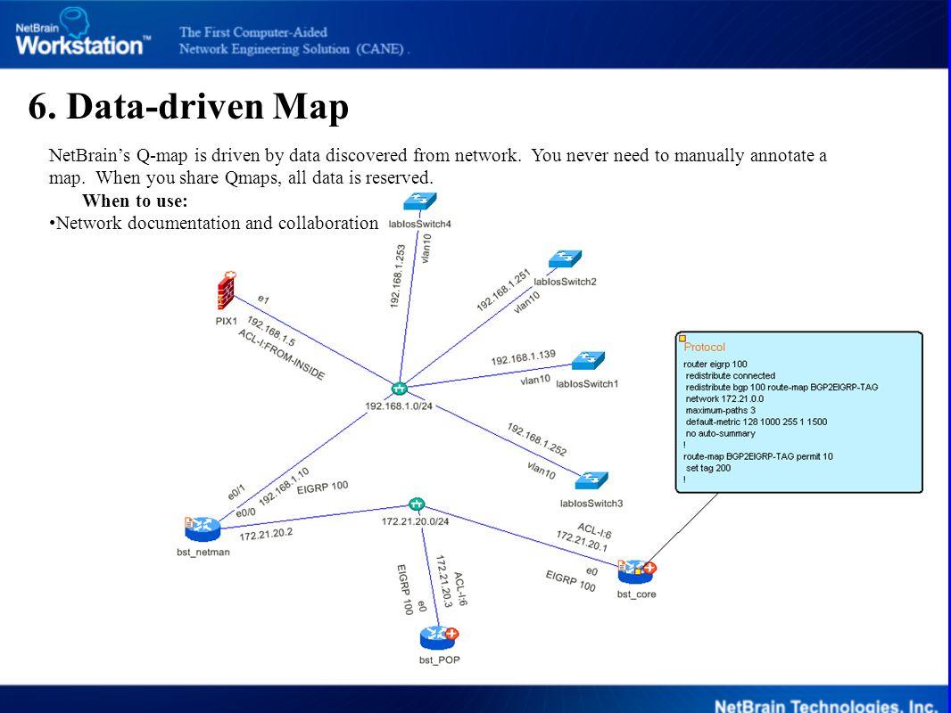 6. Data-driven Map