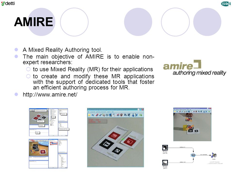 AMIRE A Mixed Reality Authoring tool.