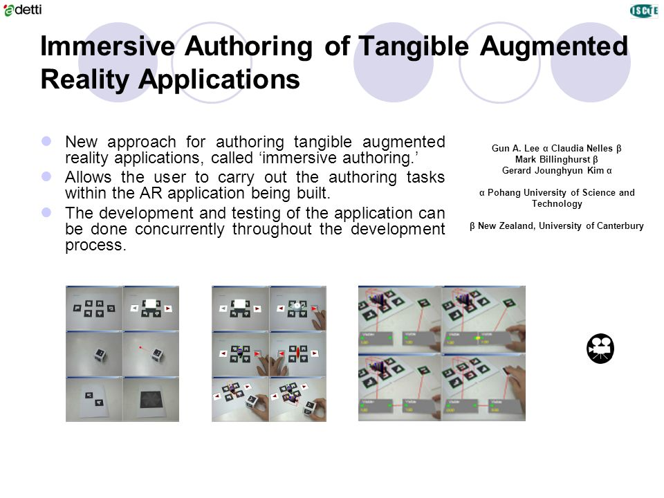 Immersive Authoring of Tangible Augmented Reality Applications