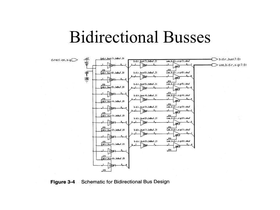 Bidirectional Busses