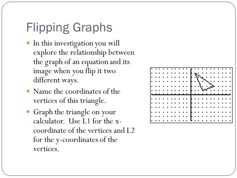 Flipping Graphs