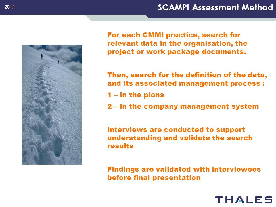 SCAMPI Assessment Method