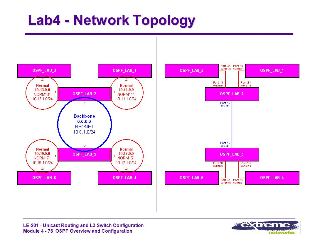 Lab4 - Network Topology LE-201 - STUDENT GUIDE Rev1.2_Oct99