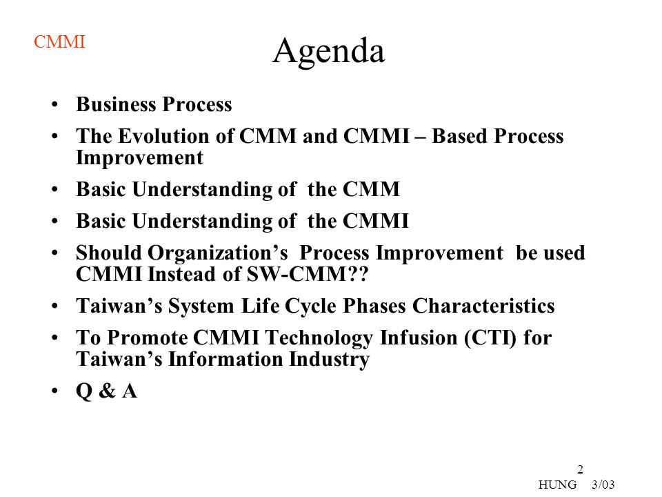 Agenda Business Process
