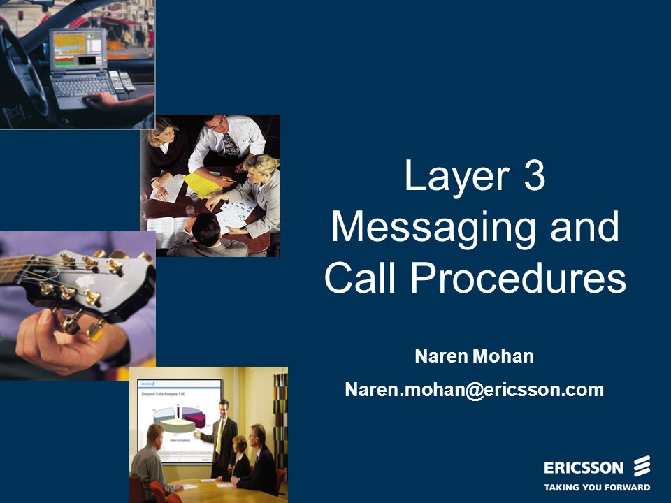Layer 3 Messaging and Call Procedures