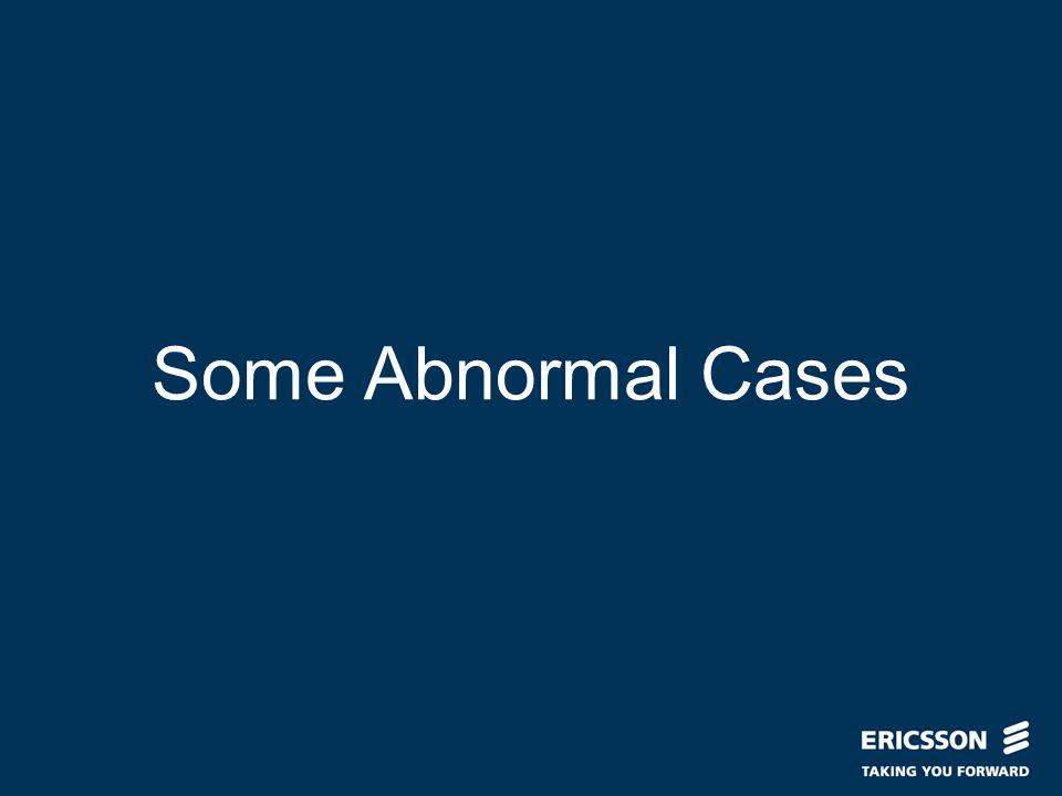 Naren Mohan 2006-05-04 Some Abnormal Cases