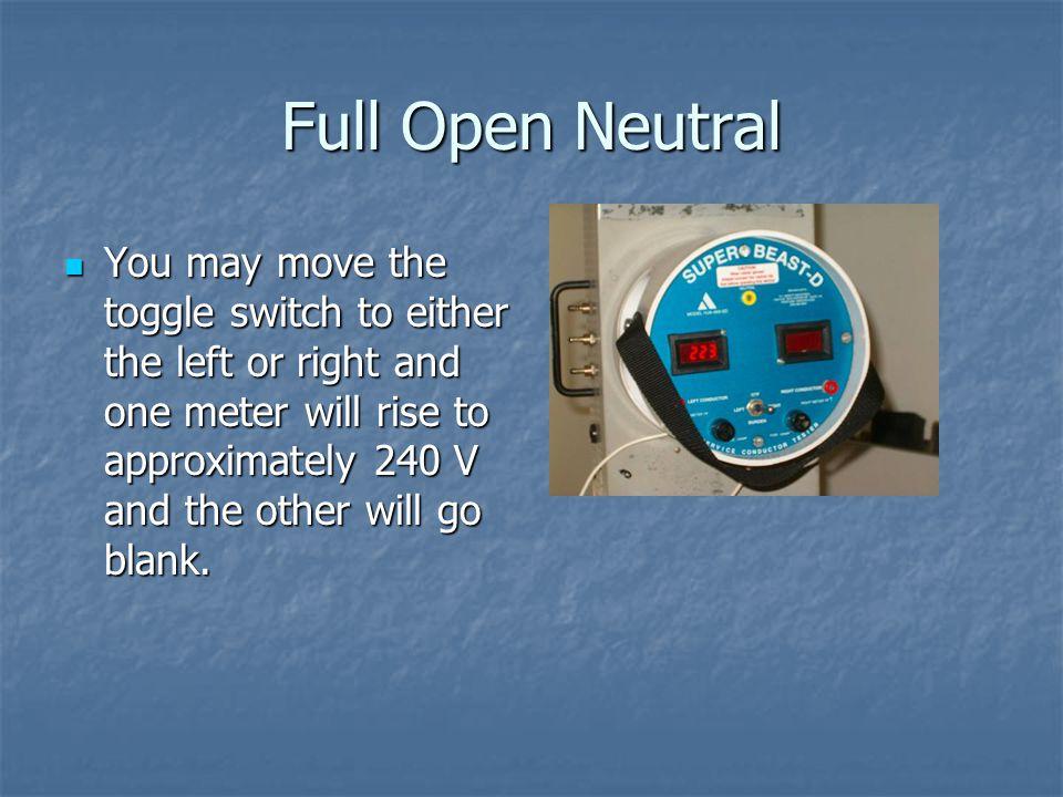 Full Open Neutral