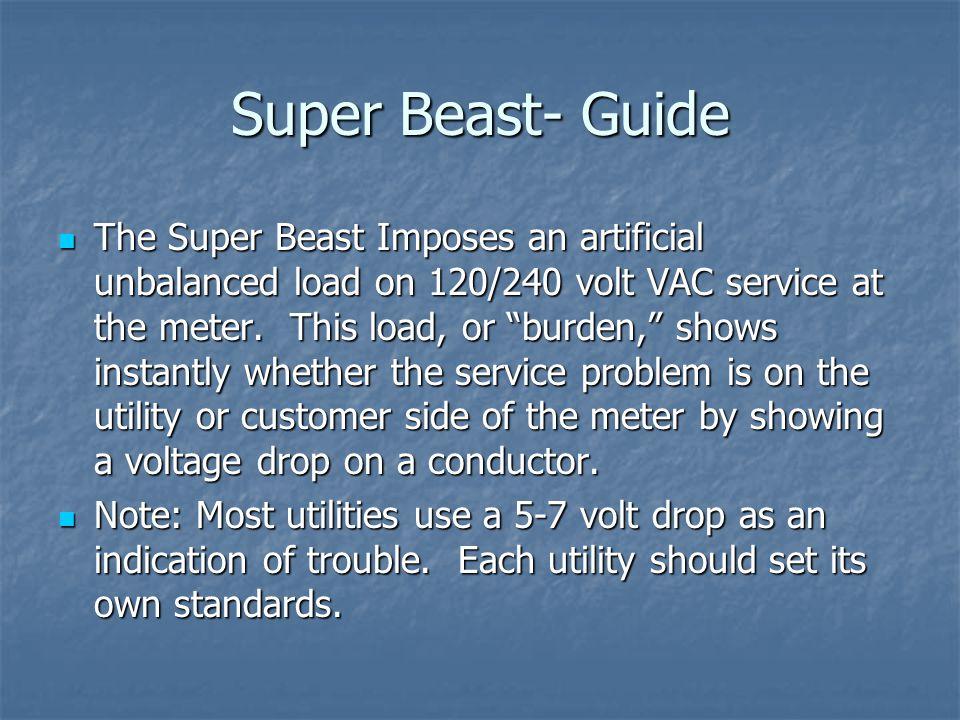 Super Beast- Guide