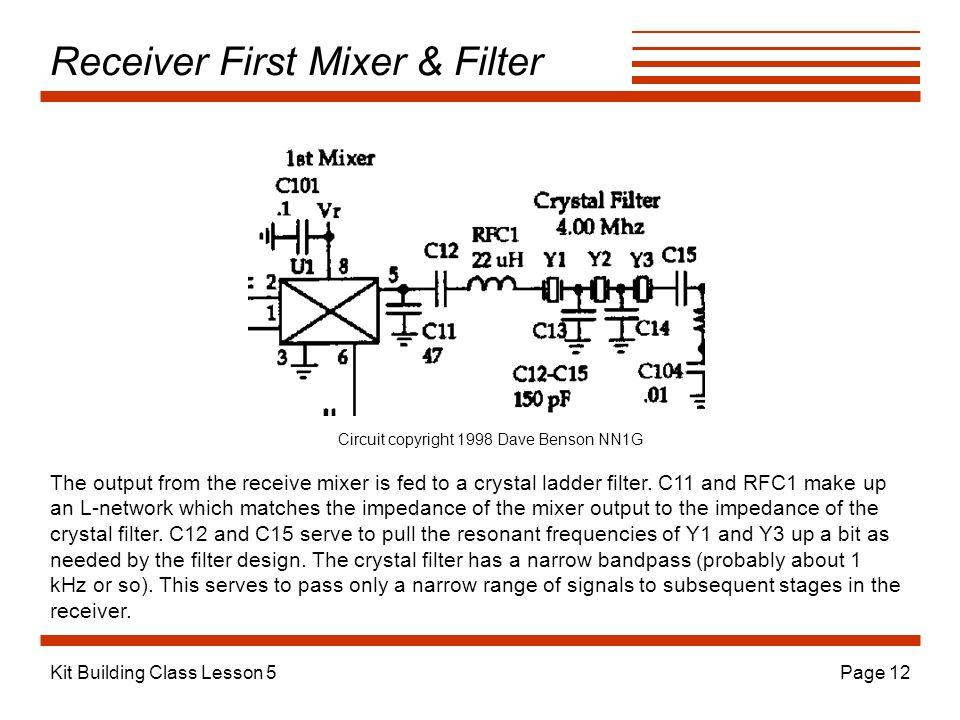 Receiver First Mixer & Filter