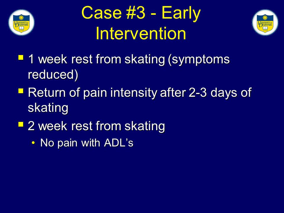 Case #3 - Early Intervention