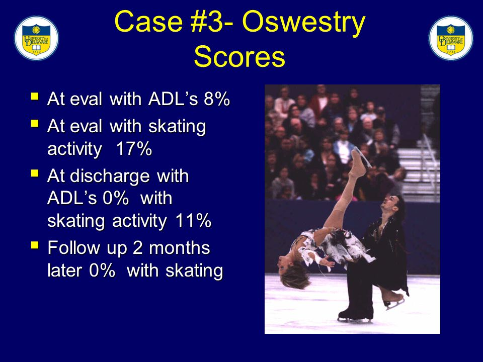 Case #3- Oswestry Scores