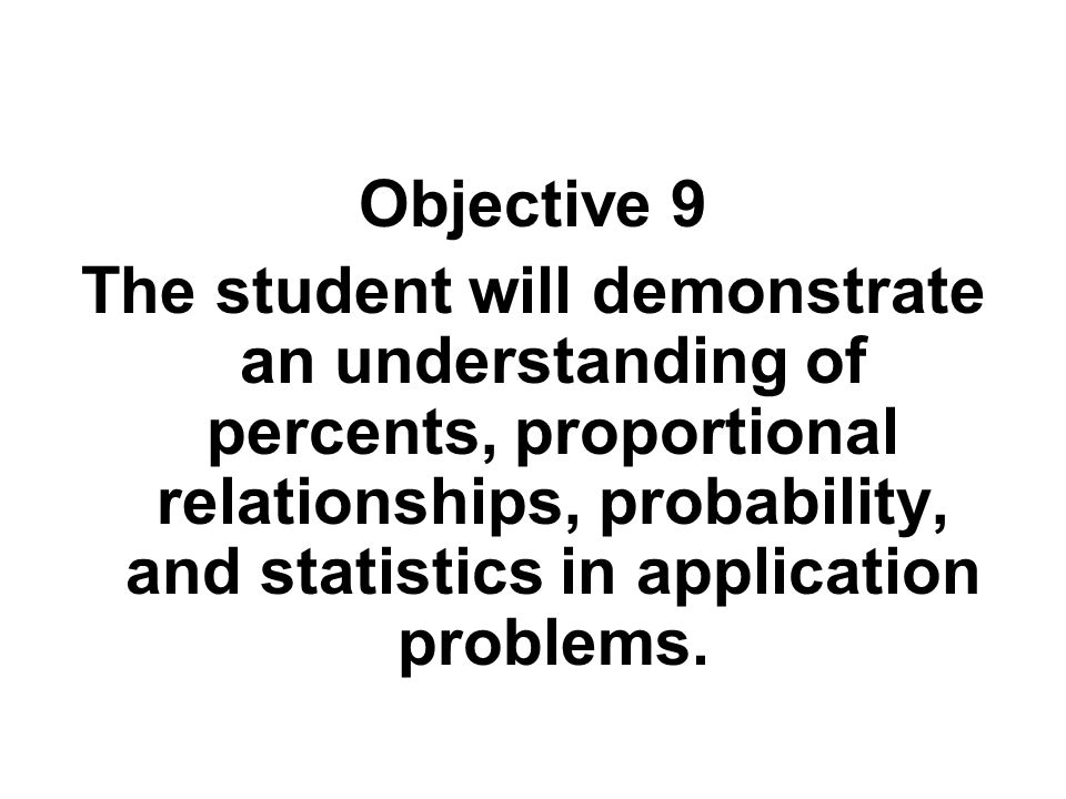 Objective 9