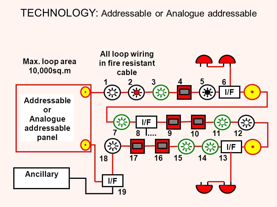 TECHNOLOGY: Addressable or Analogue addressable