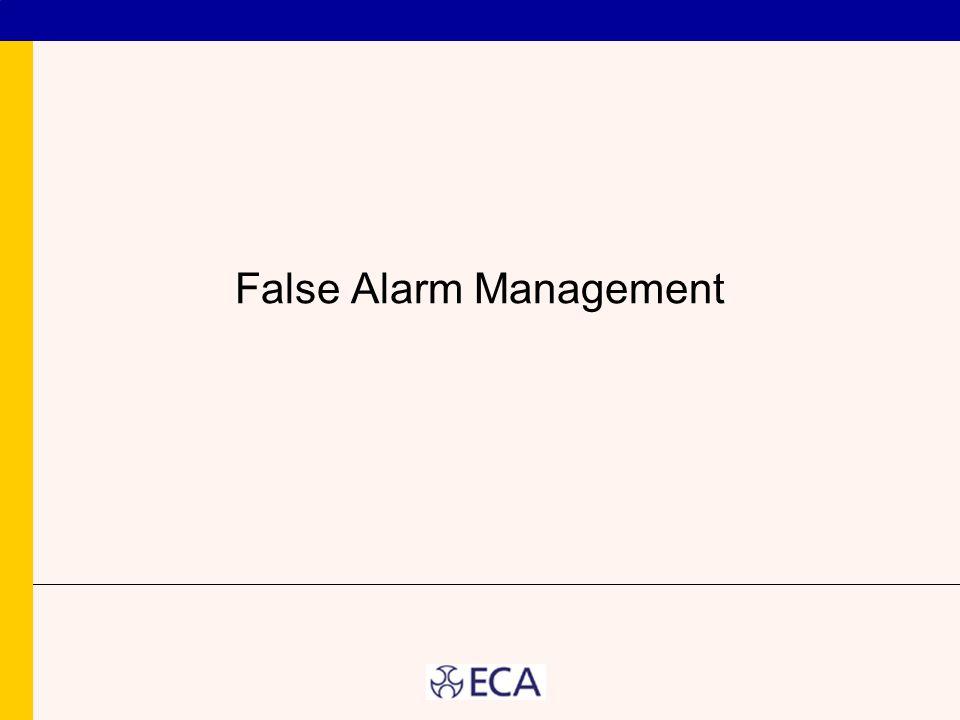 False Alarm Management
