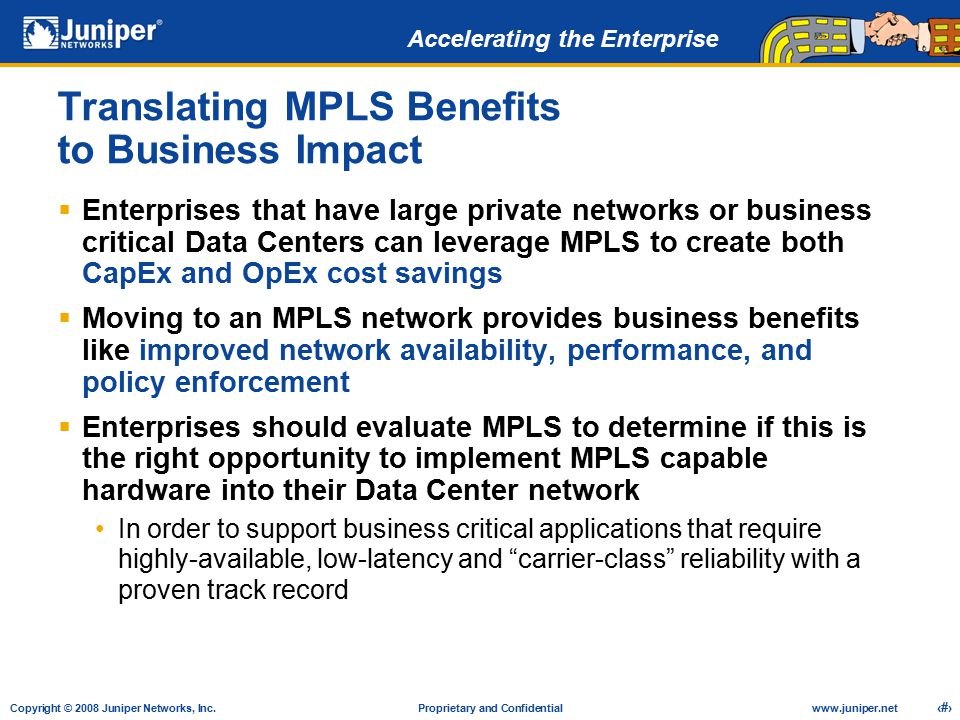 Translating MPLS Benefits to Business Impact