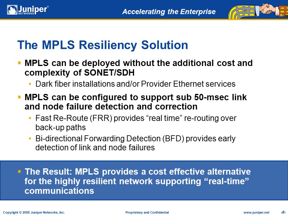 The MPLS Resiliency Solution