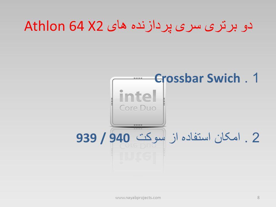 دو برتری سری پردازنده های Athlon 64 X2
