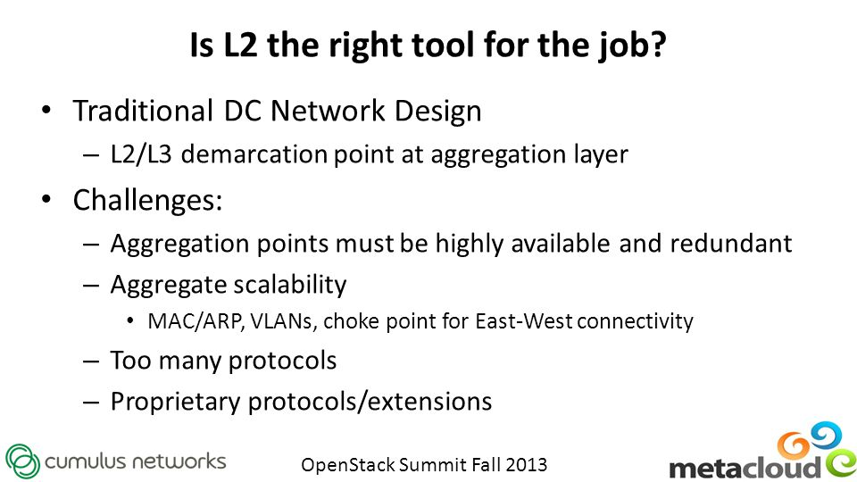 Is L2 the right tool for the job