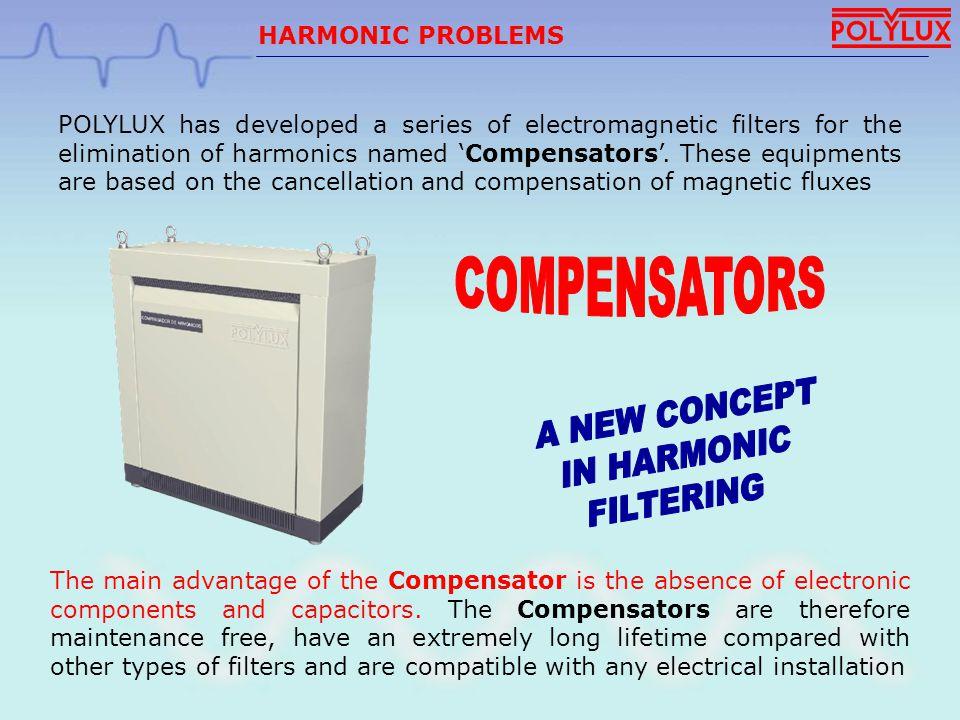 COMPENSATORS A NEW CONCEPT IN HARMONIC FILTERING HARMONIC PROBLEMS