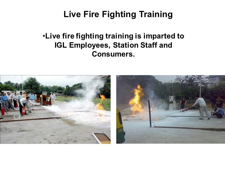 Live Fire Fighting Training