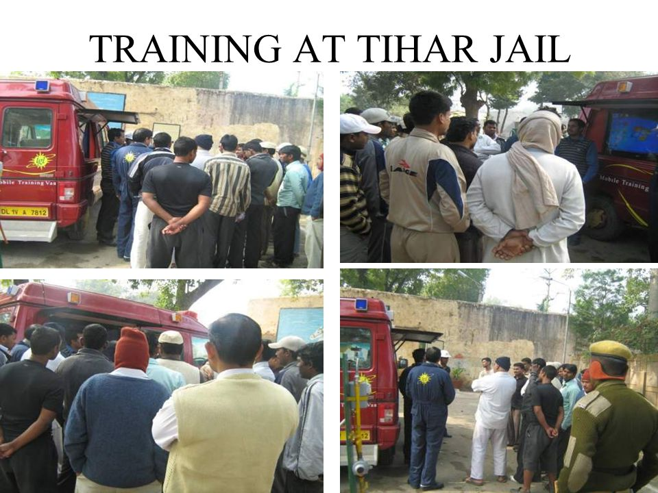 TRAINING AT TIHAR JAIL