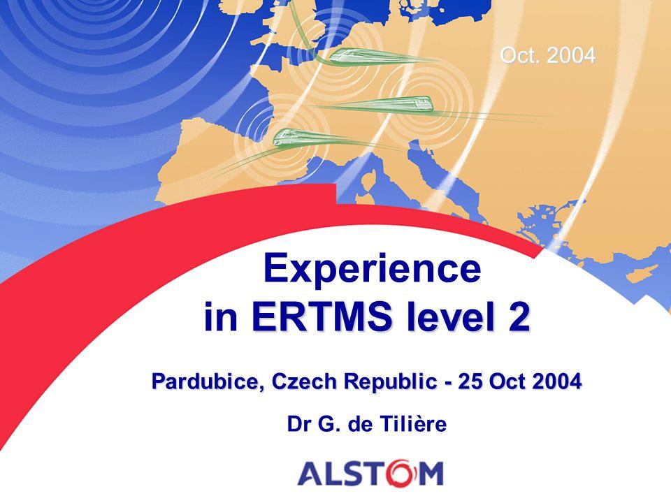 Pardubice, Czech Republic - 25 Oct 2004