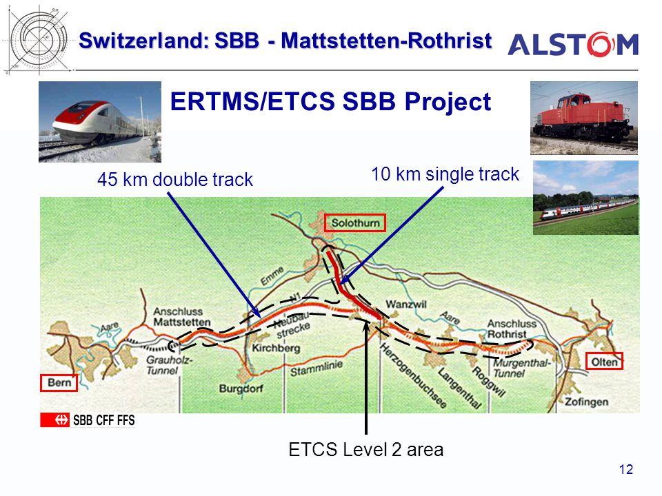 ERTMS/ETCS SBB Project