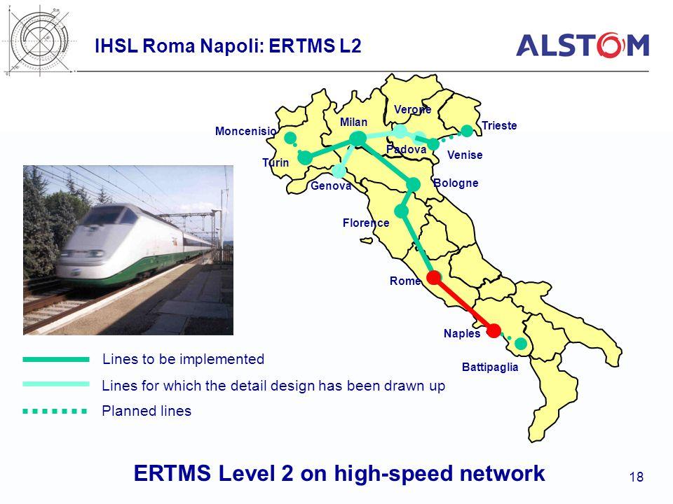 IHSL Roma Napoli: ERTMS L2