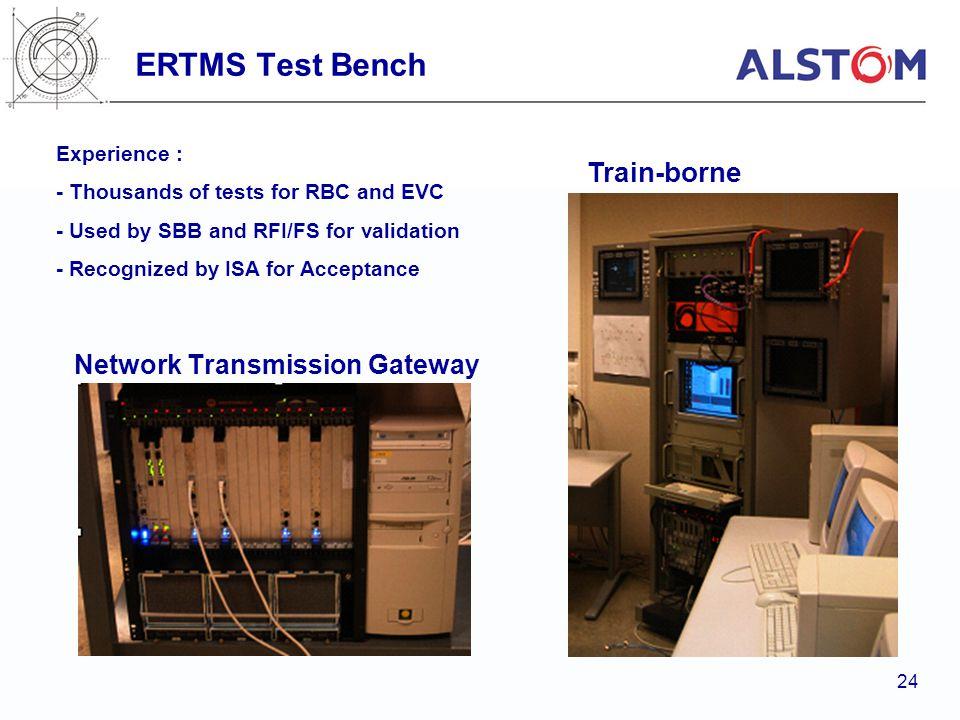 ERTMS Test Bench Train-borne Network Transmission Gateway Experience :