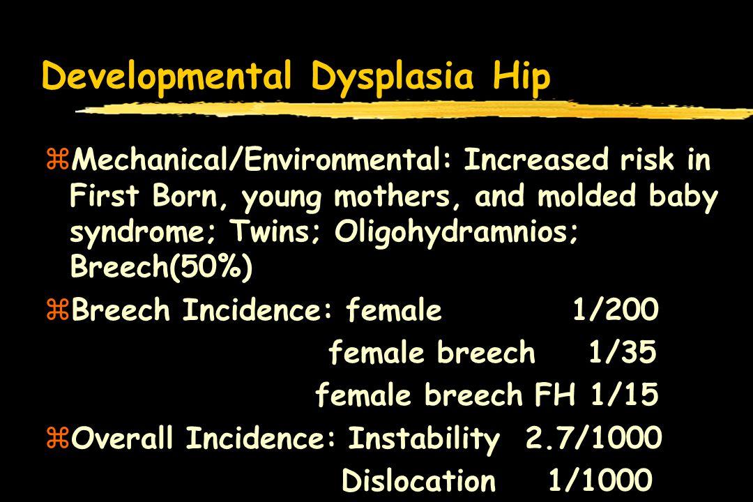 Developmental Dysplasia Hip