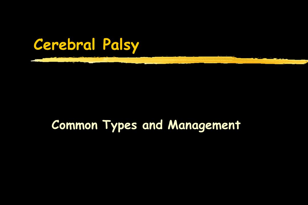 Common Types and Management