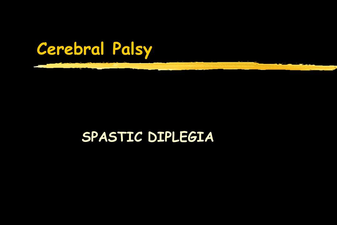 Cerebral Palsy SPASTIC DIPLEGIA
