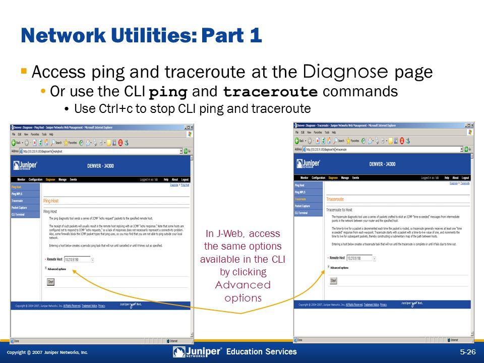 Network Utilities: Part 1
