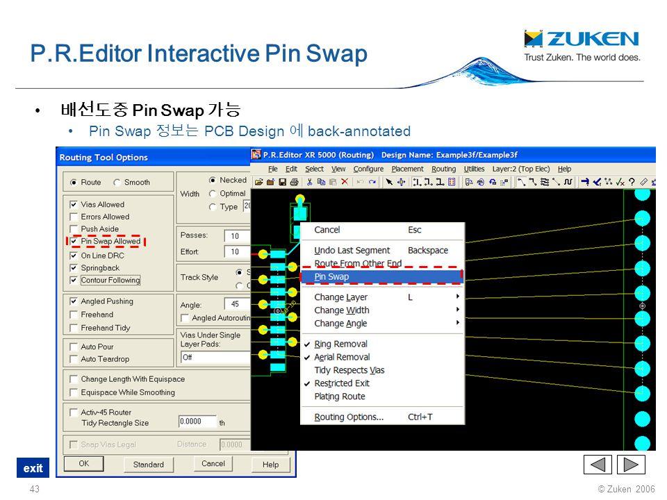 P.R.Editor Interactive Pin Swap