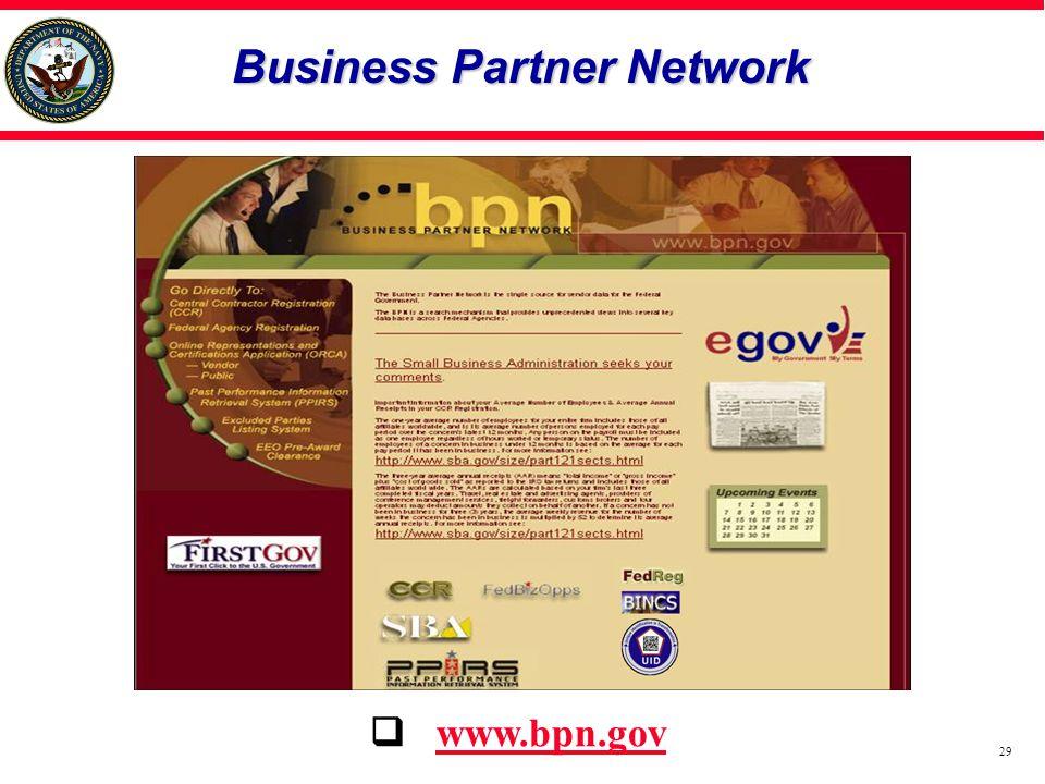 Business Partner Network