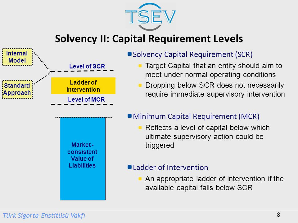 Solvency II: Capital Requirement Levels