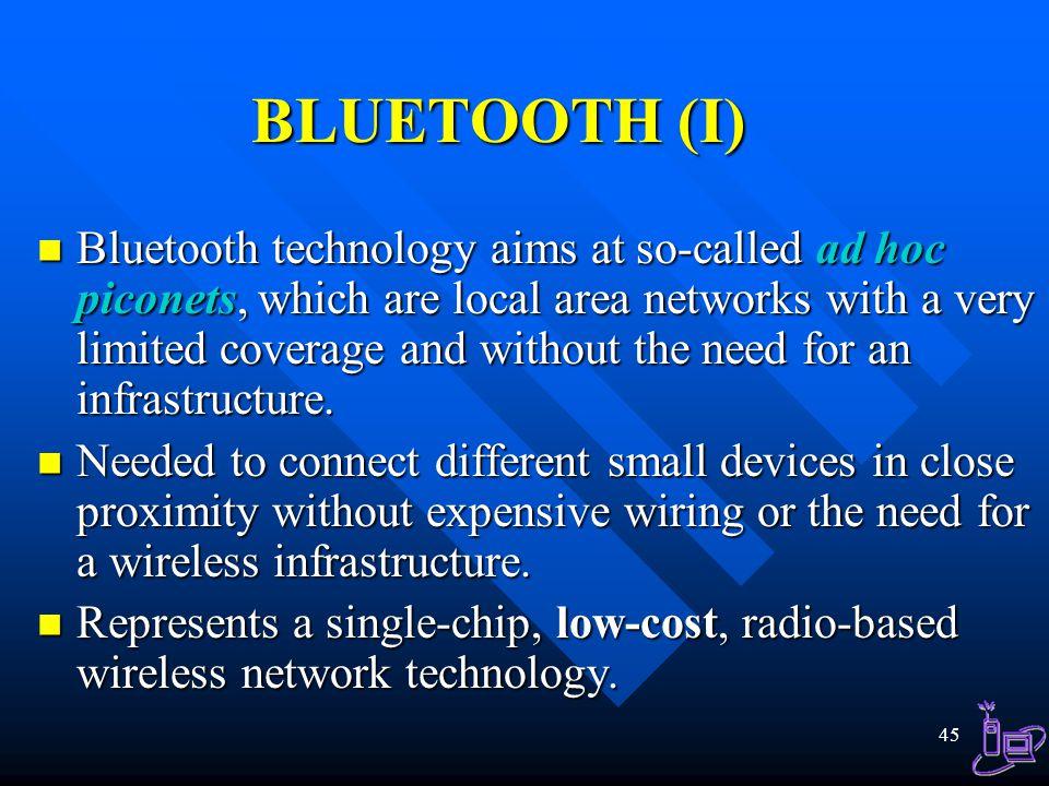 BLUETOOTH (I)