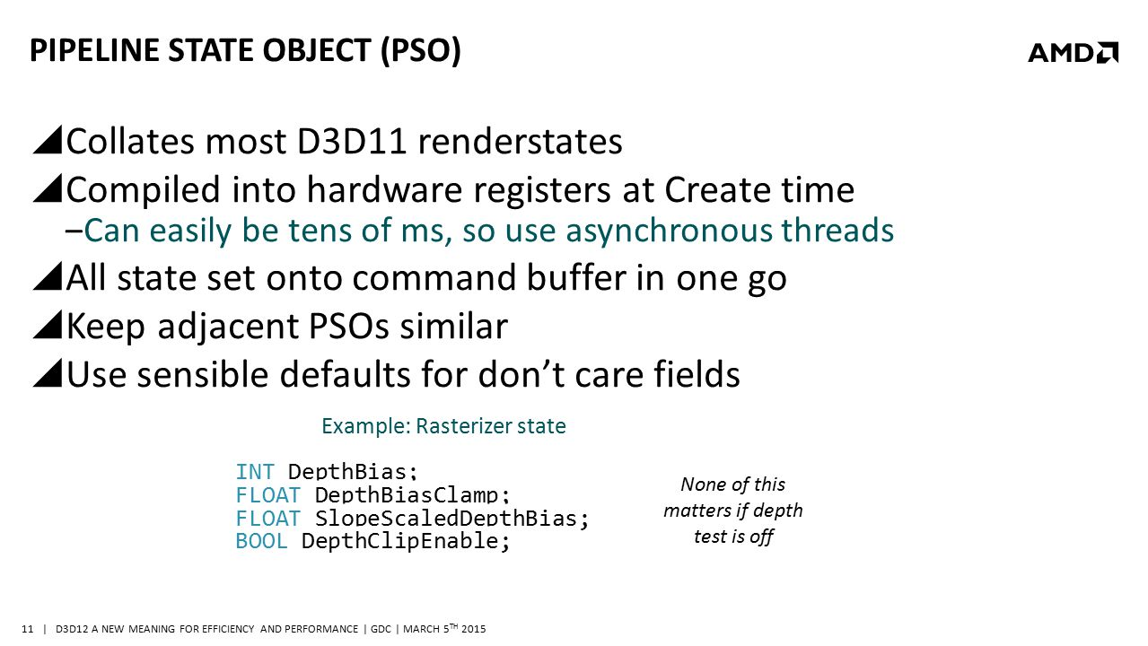 Pipeline State Object (PSO)