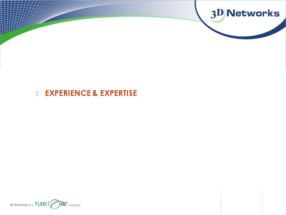 EXPERIENCE & EXPERTISE
