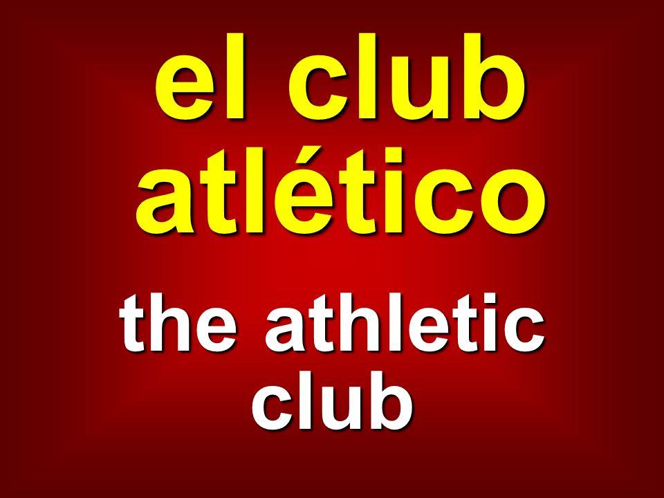 el club atlético the athletic club
