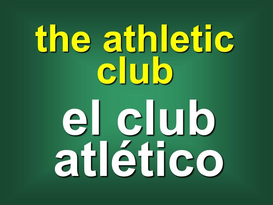 the athletic club el club atlético