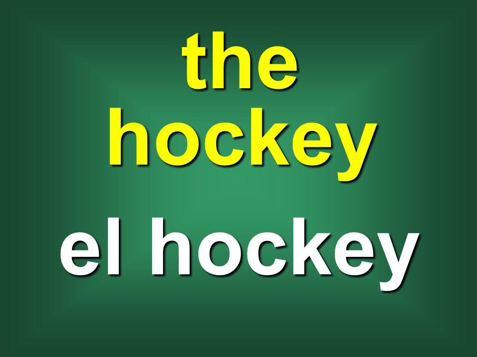 the hockey el hockey