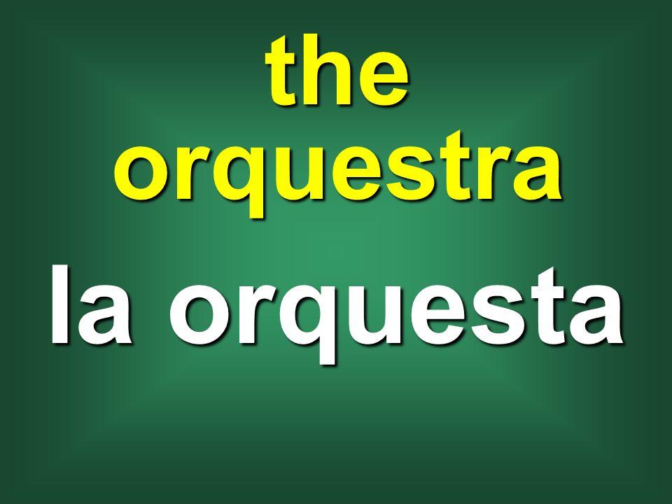 the orquestra la orquesta