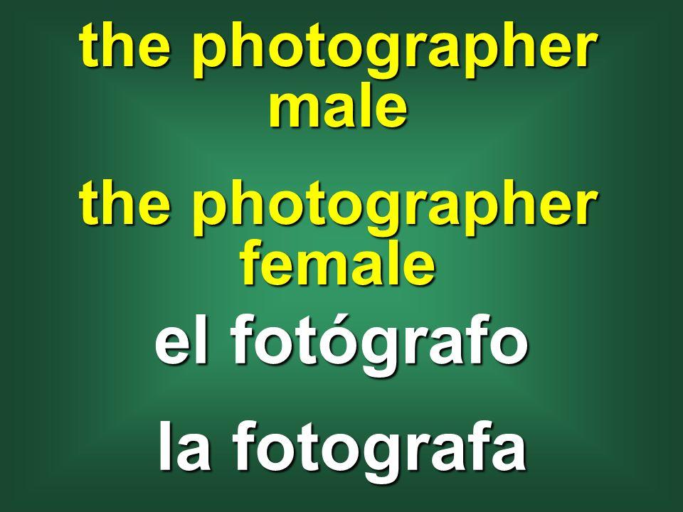 the photographer female